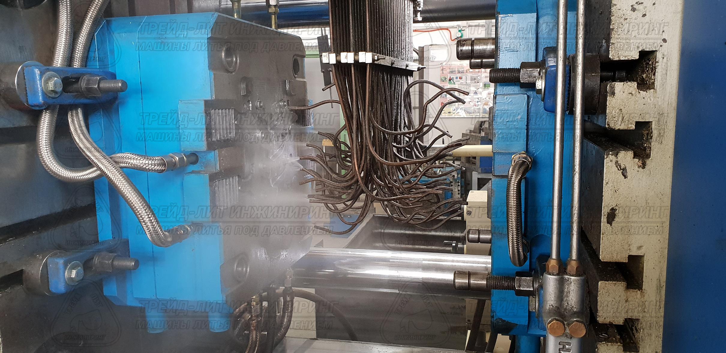 Пресс-форма Трейд-Лит Инжиниринг, установленная на машину литья под давлением MS300