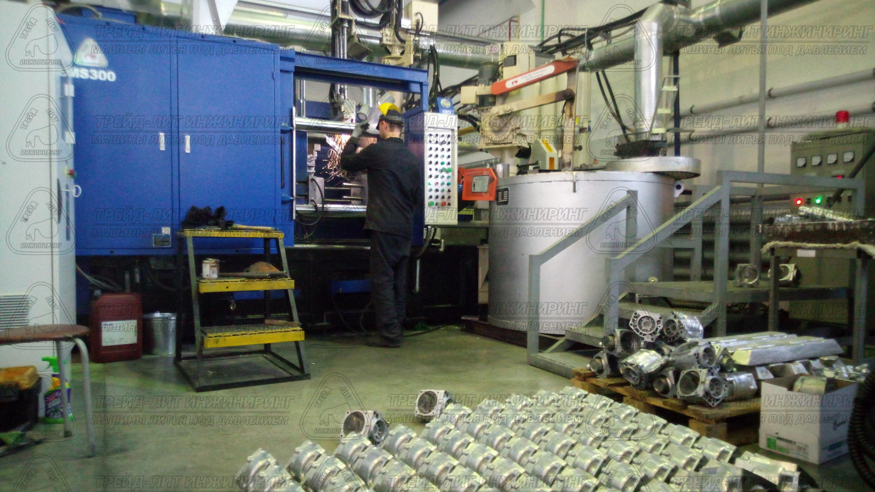 Партия отливок «Картер» полученных на автоматизированном комплексе литья под давлением MS300.