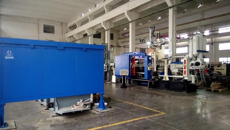 MS900 заводские испытания