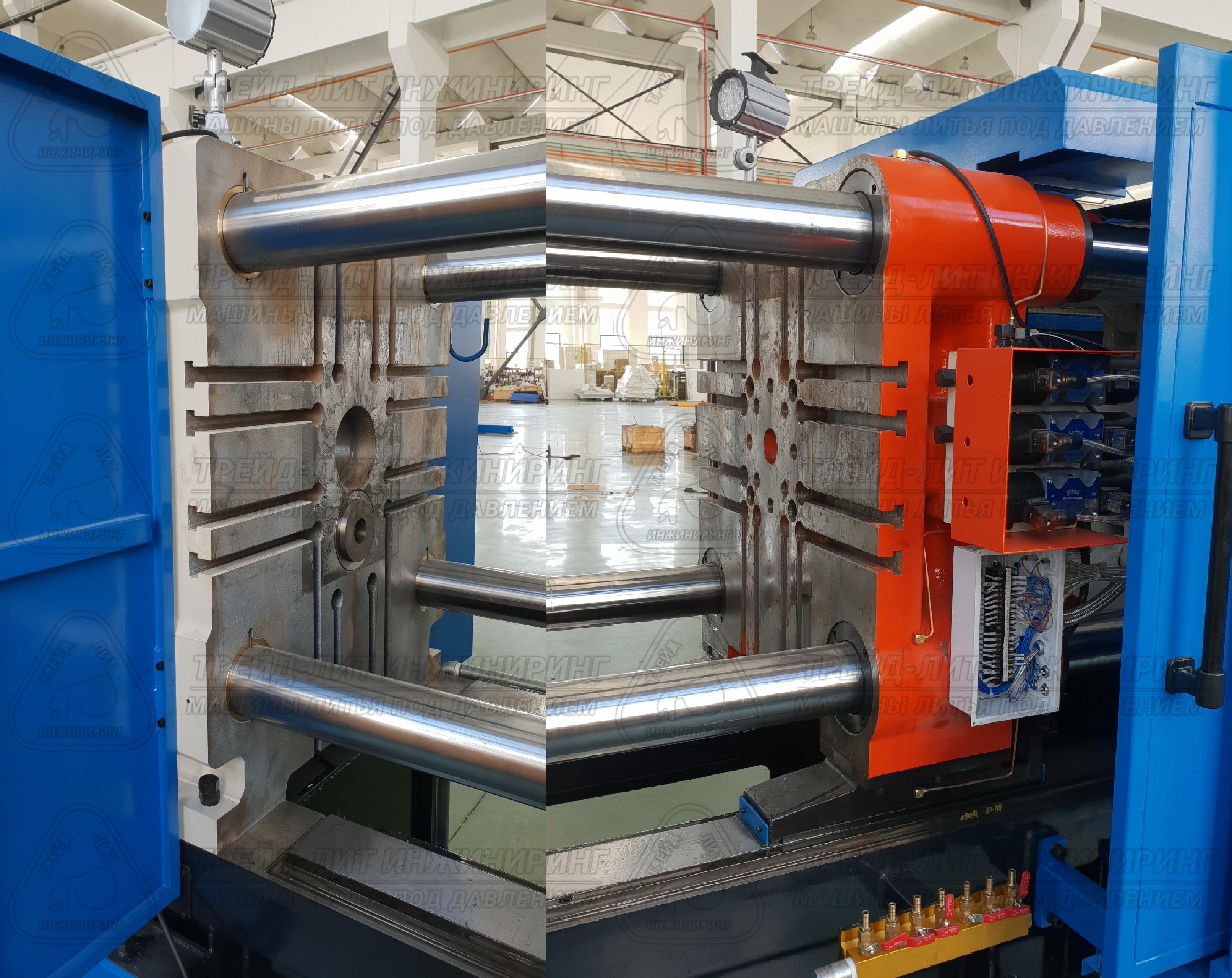 плиты литейной машины MS300