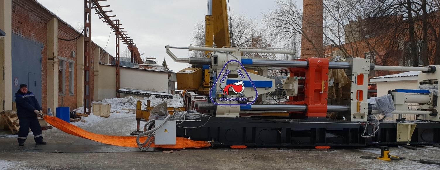 Машина литья под давлением MS1100 готова к перемещению
