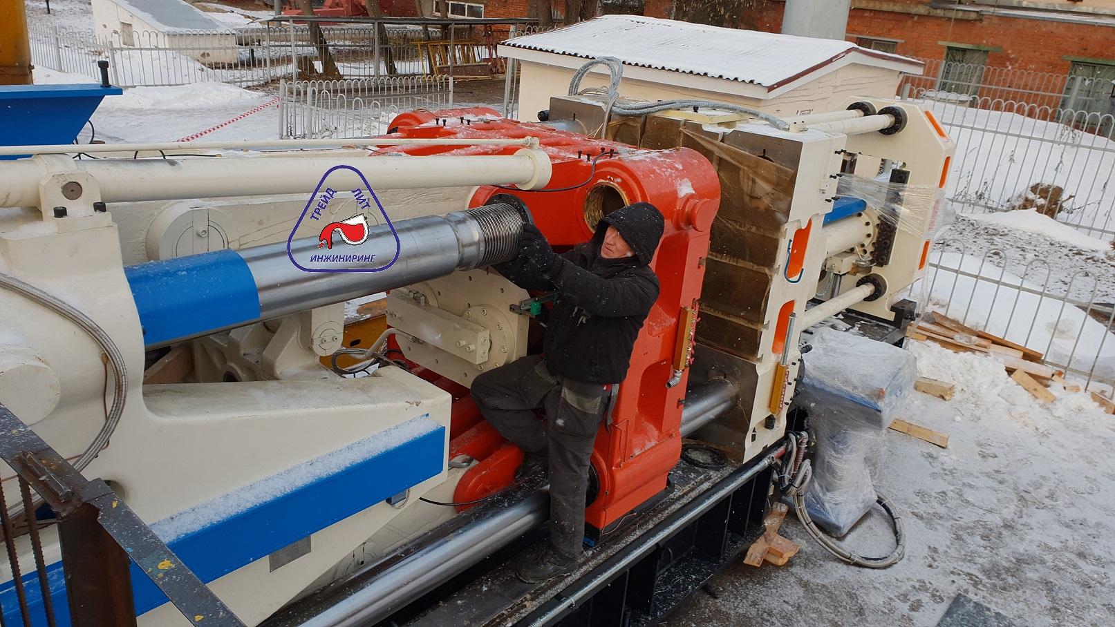 Ммашина литья под давлением MS1100 установка колонны