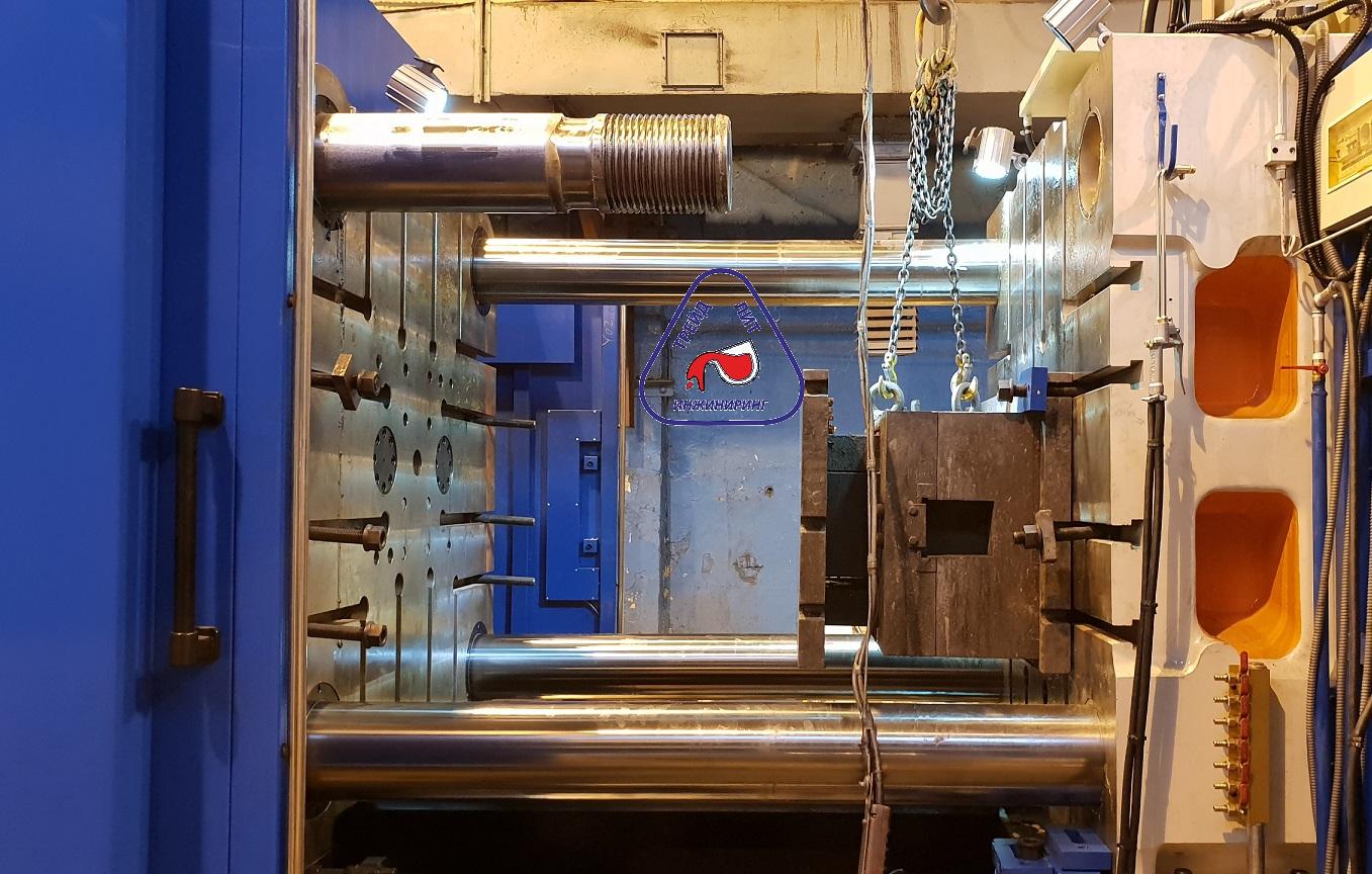 MS1100 установка пресс-формы со съемом колонны