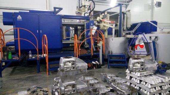 Опыт освоения пресс-формы Корпус редуктора на машине литья под  давлением MS900