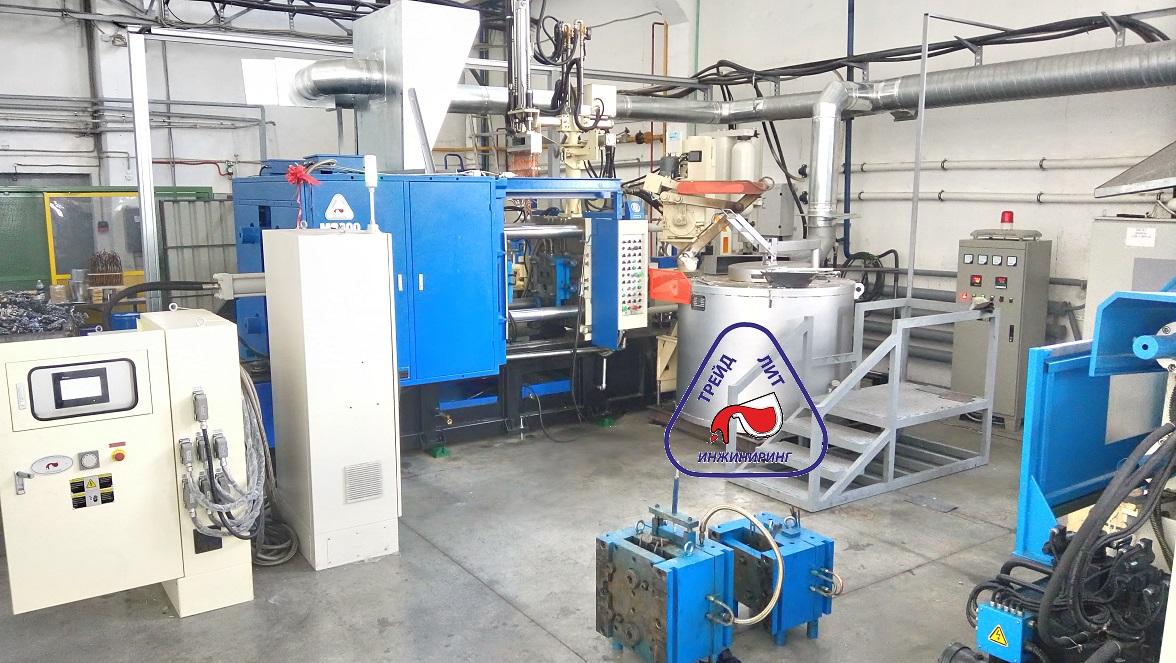 Опыт создания нового участка литья под давлением на базе машины MS300 и освоение трех пресс-форм