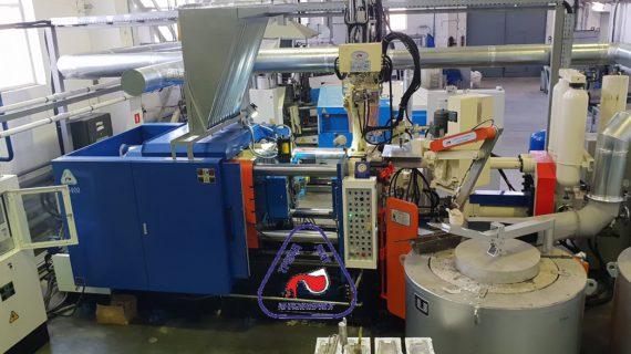 Опыт создания нового участка литья под давлением на базе двух  машин MS300 и MS400, а так же освоение двух пресс-форм